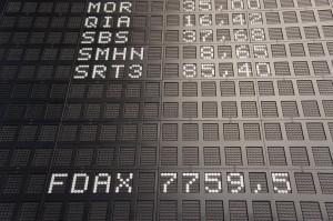 Börse_DAX_Kurstafel