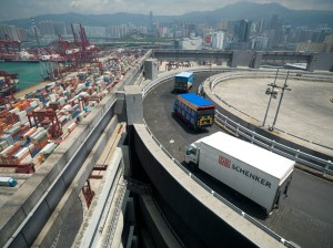 Konjunktur_DB Schenker in Hongkong